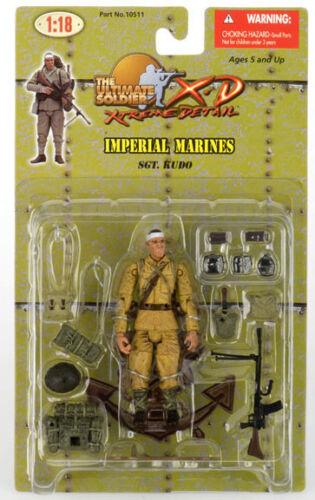 Kudo WWII Japanese NLF Marine 1:18 Scale Figure Sgt