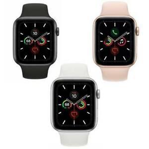 Reloj de Apple serie 5 - 40/44mm - Gris espacial-Gps/celular/Plata/Oro