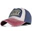 Herren Damen Denim Vintage Trucker Cap Snapback Baseball Mütze Kappe BaseCap