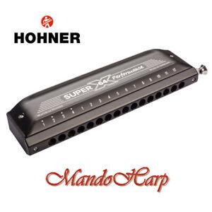 Hohner-Chromatic-Harmonica-758601-039-New-039-Super-64X-16-hole-64-reed-NEW