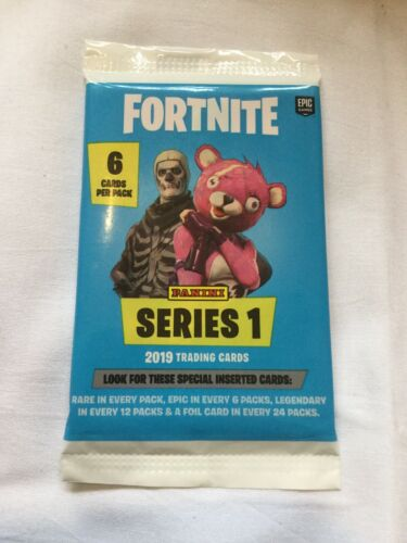 Fortnite Trading Card Collection Pack Free Postage