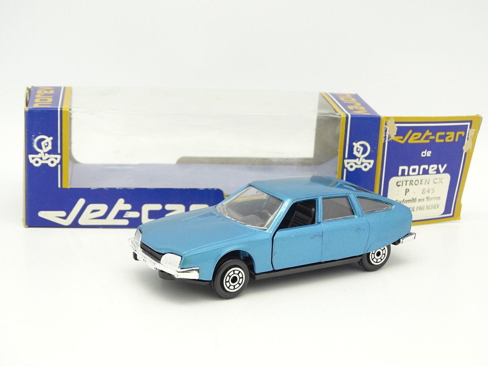 Norev Jet Car 1 43 - Citroen CX Bleue N°845