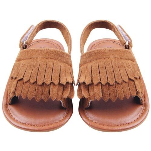 New Baby Girls Sandals Soft Summer Fashion Shoes Prewalker For Baby Girls