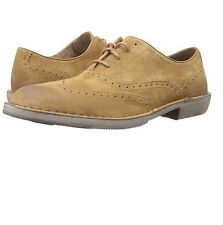 Andrew Marc Dyker Men's Oxford Wingtip Brown Suede Shoes Sz 8 M