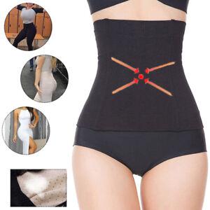 Women Fat Burning Sauna Tummy Tuck Belt Body Shaper Belly Slimming Waist Cincher