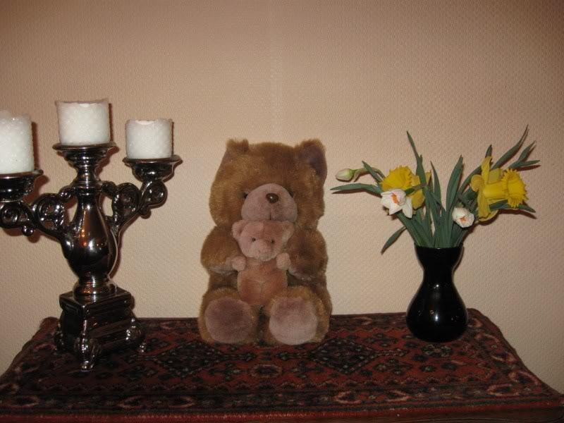 Dutch Holland Jahr Mom & Baby Teddy Bear