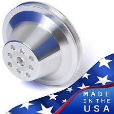 Bbc Water Pump Pulley V Belt Swp 396 427 454 1 Groove Big Block Chevy Aluminum