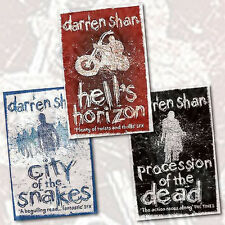 Darren Shan 3 Books Collection Set  The City Trilogy  Hels Horizon  Brand  New