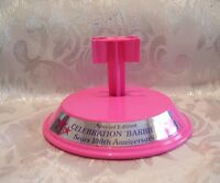Mattel Barbie Sears 100th Anniversary Pink Barbie Doll Stand