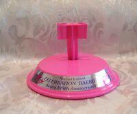 Mattel Barbie Sears 100th Anniversary Pink Barbie Doll Stand