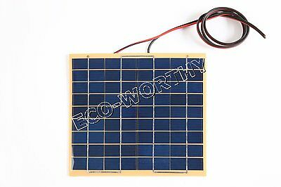 5W 10W 20W Solar panel with A Diode12 Volt Garden Fountain pond Battery Charger