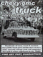 Find Chevy Pickup Truck Parts With Book 1948 1949 1950 1951 1952 1953 1954 1955