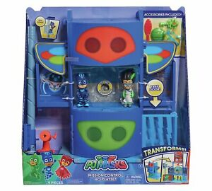 PJ-Masks-Mission-Control-HQ-Playset-Damaged-Retail-Packaging-See-Pics-95256