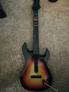 Guitar Hero PS3 Red Octane Sunburst Wireless Controller - No Dongle - Untested