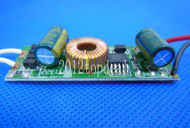 2pcs DC12V 12W led Driver power supply 280mA for 12PCS 1W High Power LED Chip