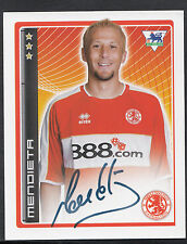 Merlin Football Sticker - 2007 Premier League - No 313 - Middlesbrough -Mendieta