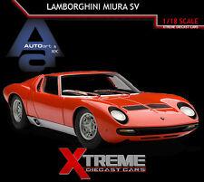 AUTOART 74543 1:18 LAMBORGHINI MIURA SV RED SUPERCAR DIECAST