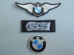 PATCH-BMW-KIT-ARGENTO-PZ-3-RICAMATE-TERMOADESIVE-REPLICA-COD-386