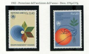 19572) United Nations (Geneve) 1982 MNH Environnement
