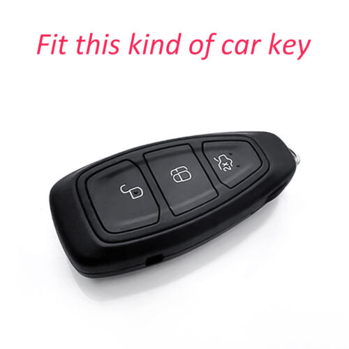 Smart Key Case Cover Fob Holder For Ford Focus Kuga Fiesta EcoSport Accessories