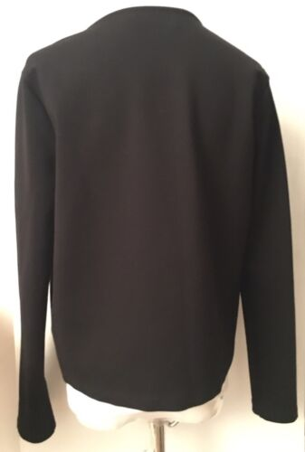 Giacca S By pelle Nwot Graham di Spencer Velvet nera Sz in stretch rayon ZqWIAT