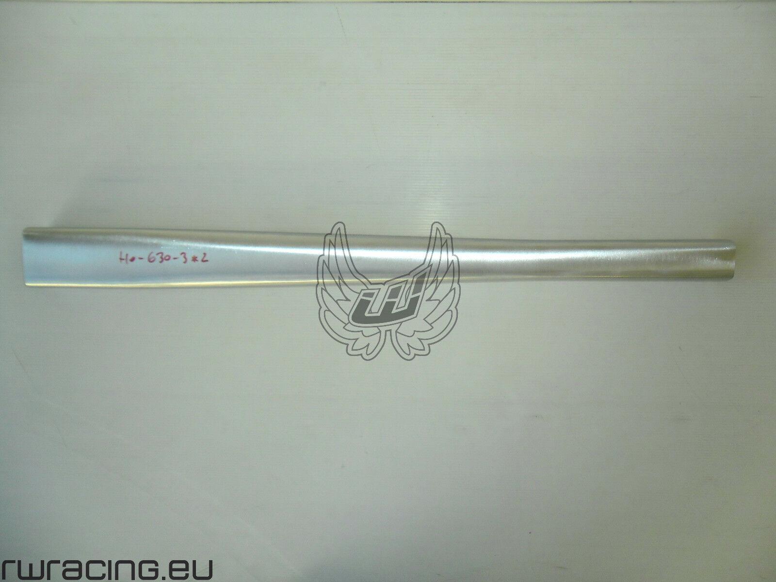 Tubo inferiore grezzo per telaio bici   mtb in alluminio - bike frame down tube