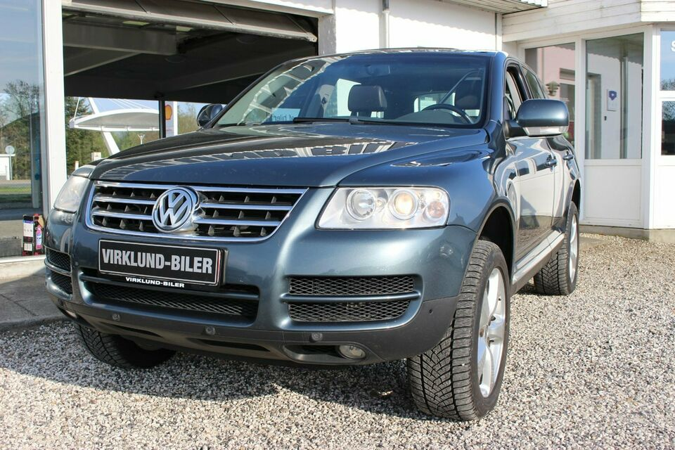VW Touareg 3,0 TDi Tiptr. Diesel aut. Automatgear modelår