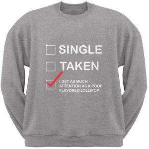 Valentine/'s Day Single Dark Heather Grey Adult T-Shirt