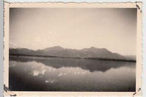 (f18386) Orig. Photo Chiemsee, Vue De L'île Des Femmes 1935-afficher Le Titre D'origine êTre Hautement Loué Et AppréCié Par Le Public Consommateur
