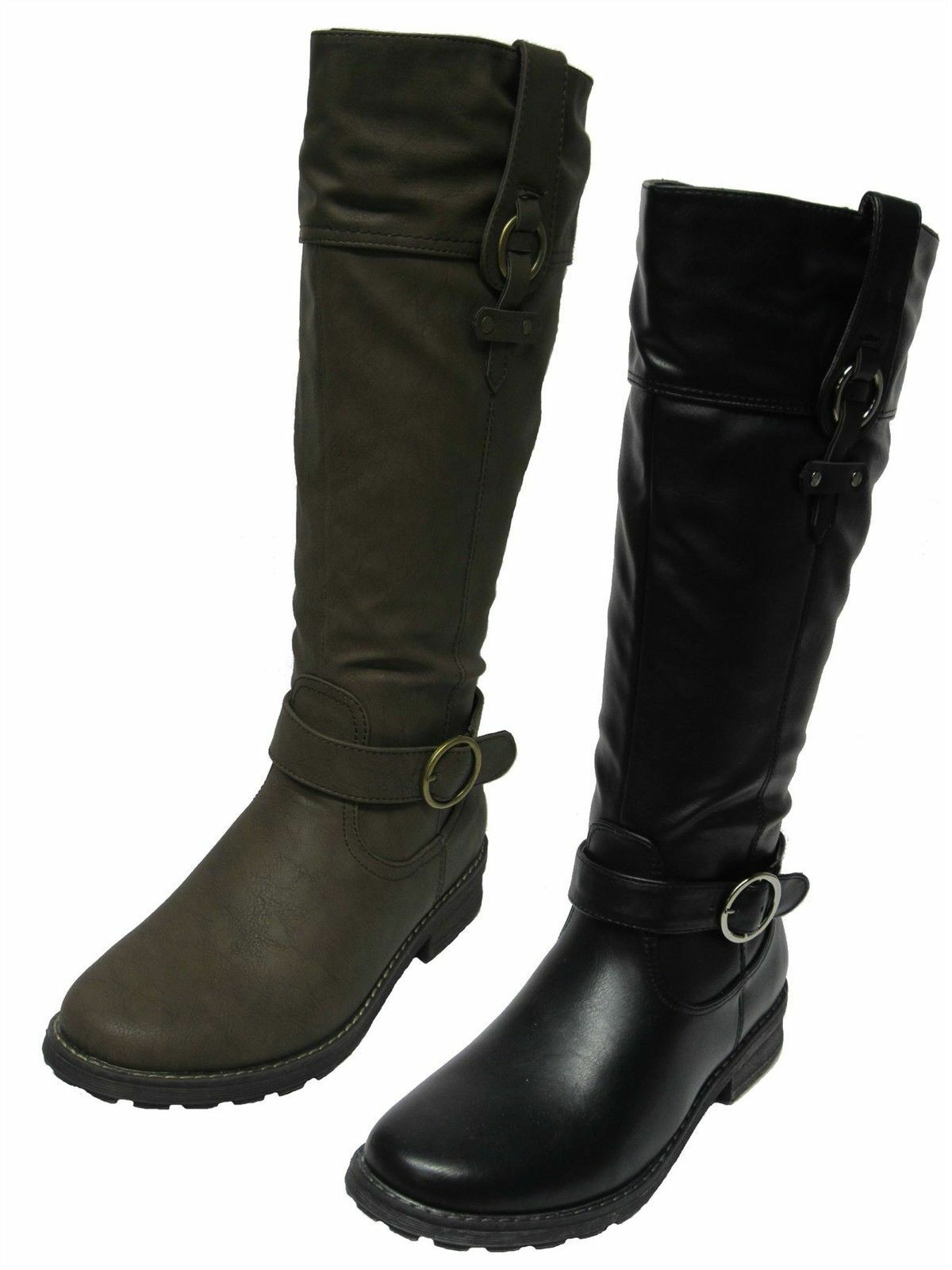 PADDERS CHICAGO BLACK OR TAUPE KNEE HIGH BOOTS
