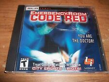 Real Life Emergency Room: Code Red (PC Game 2001 Legacy Interactive) WIN/MAC NEW