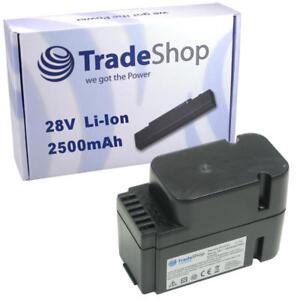 Premium Batterie 28 V 2000 mAh Li-Ion pour Worx Landroid l1500i wg798e m500b wg755e
