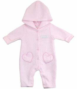 d562d8049288 BabyPrem Baby Girls Clothes Pink All-In-One Hooded Suit Outfit NB-3m ...