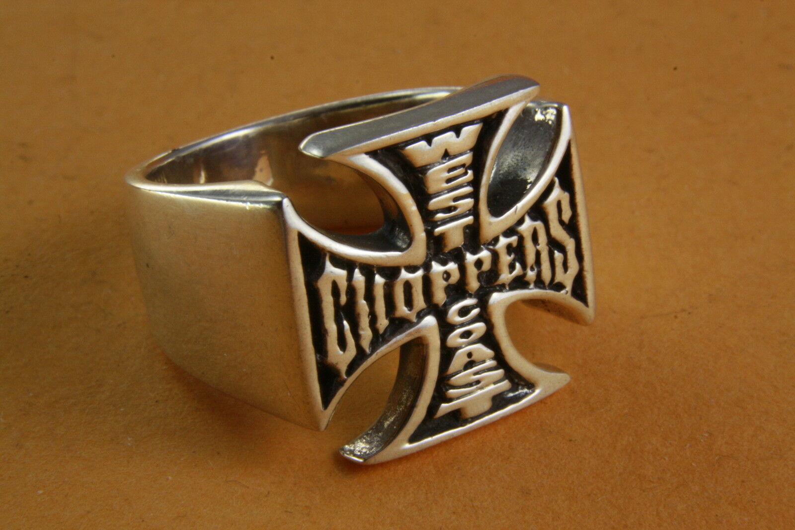 MASSIVER CHOPPER BIKER SIEGELRING HERRENRING 925 silver silverRING   014
