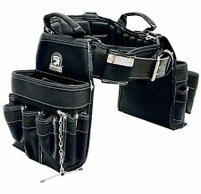 TradeGear Large Electrician's Combo Belt & Bags - MEASURE WAIST WITH CLOT... New