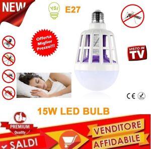 LAMPADINA-ZANZARIERA-LED-ELETTRICA-ANTI-INSETTI-E27-15W-MOSQUITO-KILLER-220V