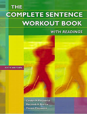 1 of 1 - NEW The Complete Sentence Workout Book with Readings (5th Edition)