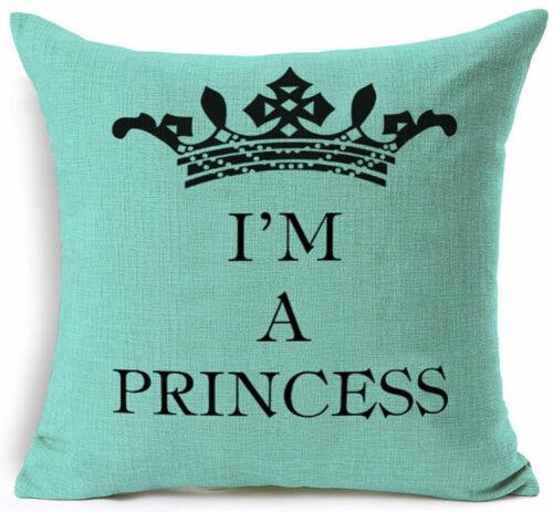 Funny words cushion cover pillow case cover waist throw sofa Home Decor