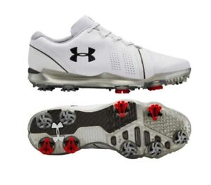 2019 Under Armour Spieth 3 Golf Shoes Golf Shoes Wide Width - White ... 4c83d13c0