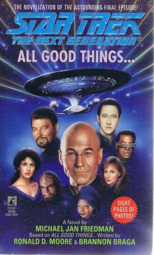 1 of 1 - All Good Things by Friedman Michael Jan - Book - Paperback - Science Fiction