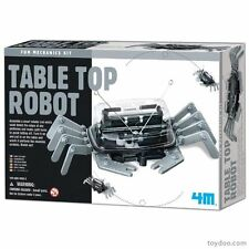 TOYSMITH 4M 5576 TABLE TOP ROBOT KIT (non-solder) AGES 8+
