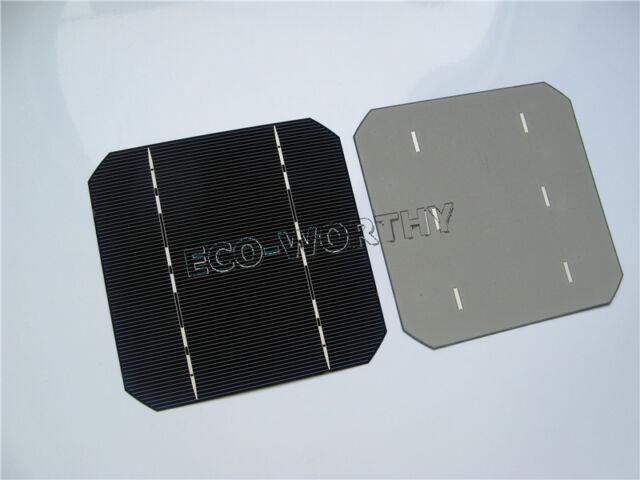 5x5 125x125 Monocrystalline Solar Cells Mono 5x5 Cell for DIY Solar Panel