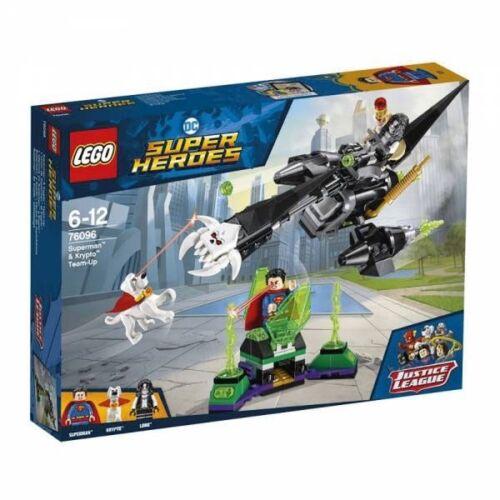 LEGO SUPER HEROES 76096 SUPERMAN SUPER MAN UND KRYPTO TEAMUP TEAM UP NEU
