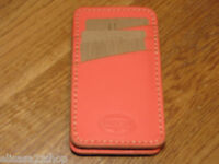 Fossil Sl3930385 Austin Phone Sleeve Hot Coral Iphone Leather Iphone Nwt^