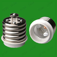 2x E40 Goliath Large Screw to Edison E27 ES Lamp Socket Converters Light Adaptor