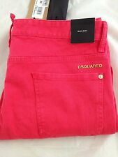 DSQUARED² Slim Fit Pants 5 Pocket 659 Coral Jeans (W 34 - Italia 50 ) $ 475