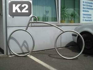 Design fahrradständer edelstahl