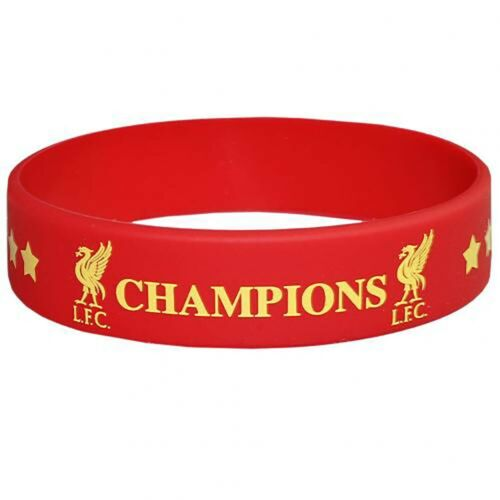CHAMPIONS OF EUROPE Liverpool F.C Silicone Wristband