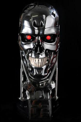 In Stock Terminator Arnold neroenegger T2 T800 skull cifra Resin Statue