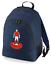 Football-TEAM-KIT-COLOURS-Charlton-Supporter-unisex-backpack-rucksack-bag miniatuur 3